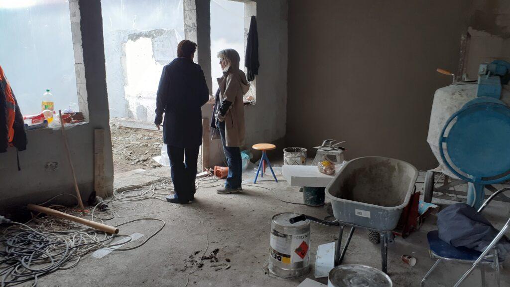Monika Brandsch über den neuen Gruppenraum